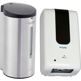 Wall Mount Touch-Free Soap & Sanitizer Dispensers