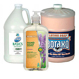 Liquid, Lotion & Powder Soap