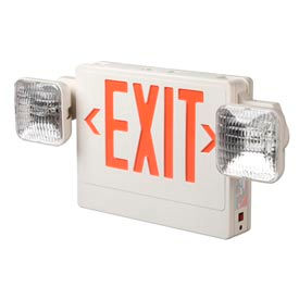 Combination Emergency LED Exit Signs & Lighting