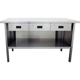 Stainless Steel Workbenches With Drawers