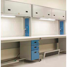Modular Height Adjustable Top Workbenches with Electric Circuit System