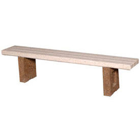 Concrete Flat Benches