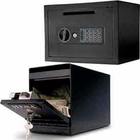 Depository Cash Drop Safes - Front Drop Slot Load