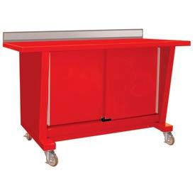 Mobile Sliding Door Cabinet Automotive Workbenches (en)