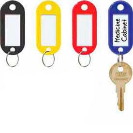 Étiquettes à clés ID