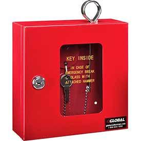 Armoires à clés d'urgence