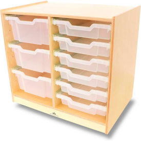 Stationary Shelves & Organizers with Bins or Drawers