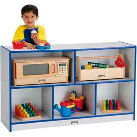 Mobile Cubby Storage without Bins