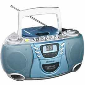 Hamilton Electronics - CD, Cassette et AM / FM Radio Boom Box