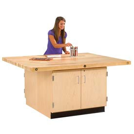 Maple Storage Workbenches