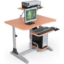 Stationary Computer Desks and Workstations
