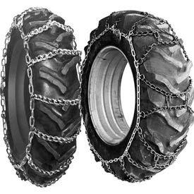 Chaînes de pneu de tracteur
