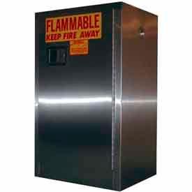 Armoires de stockage inflammables en acier inoxydable Securall®
