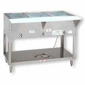 Supreme Metal Stationary Electric Hot Food Table