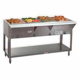 Supreme Metal Stationary Gas Hot Food Tables