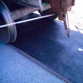 Railroad Track Oil Absorbent Mats