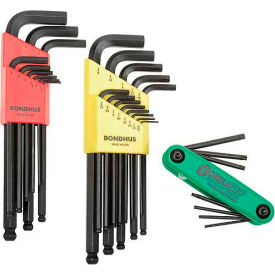 SAE (Fractional) & Metric (MM) Hex Key Sets