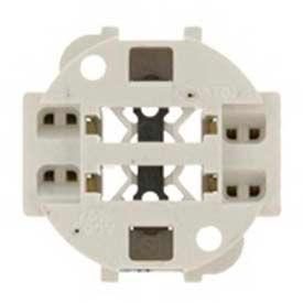 Douilles pour lampes fluorescentes compactes