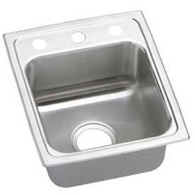Elkay Gourmet Lustertone ADA Sinks - 3 trous Faucet