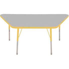 ECR4KIDS® - Trapezoid Activity Tables - Standard, Juvenile & Chunky Leg Style