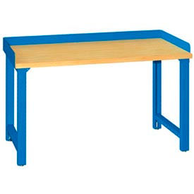 Fixed Height Workbenches with Backstops