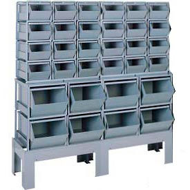 StackRack Bin System With Steel Bins