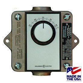 TPI endroit dangereux Thermostats
