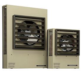 Ventilateur horizontal ou Vertical décharge aérothermes suspendus