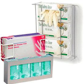 Supports de boîte gant métallique