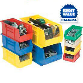 Premium Plastic Stack And Hang Parts Bins