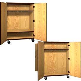 Ironwood Mobile Wood Wardrobe Cabinets