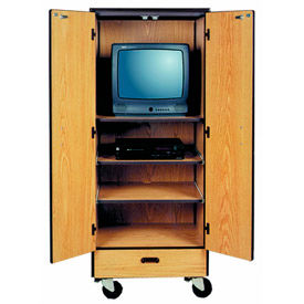 Ironwood Mobile Wood Video Cabinets