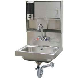 Soap & Towel Dispenser Hand Sinks