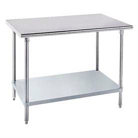 Advance Tabco Heavy Duty Worktable With Crossrails