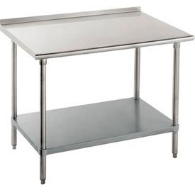 Advance Tabco and BK Resources Heavy Duty Work Tables