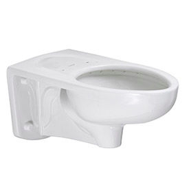 Robinet de chasse Standard américain allongé toilettes