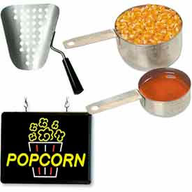 Accessoires de popcorn