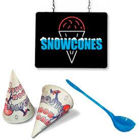 Accessoires de Snow Cone