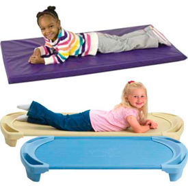 Rest Time Mats & Stackable Cots