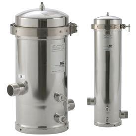 Cartouche unique boîtier de filtre en acier inoxydable