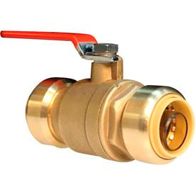 Lead Free Push-Fit Full Port Ball Valves