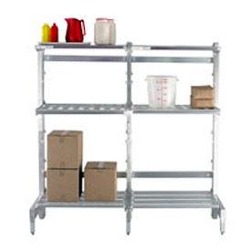 Composants d'étagères en porte-à-faux en aluminium