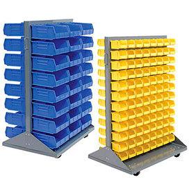 Mobile Double face Pick Rack en empilant des bacs