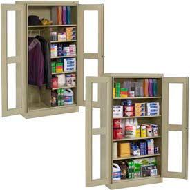 Tennsco C-Thru Deluxe Cabinets
