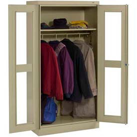 Tennsco C-Thru Wardrobe Cabinets