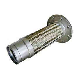 Stainless Steel Braided Hoses With Grooved Nipple & Flange