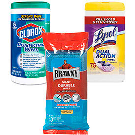 Sanitizing & Disinfecting Wipes