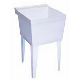 Fiat® Composite Acrylic Freestanding Laundry Tubs