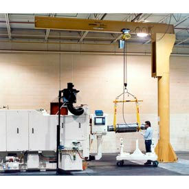 Gorbel® Heavy Duty autoportante potences 2000 lb de capacité de 3000 lb
