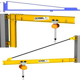 Gorbel® Wall Mounted Jib Cranes